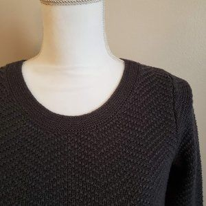 Old Navy Maternity Gray Chevron Seed Knit Sweater
